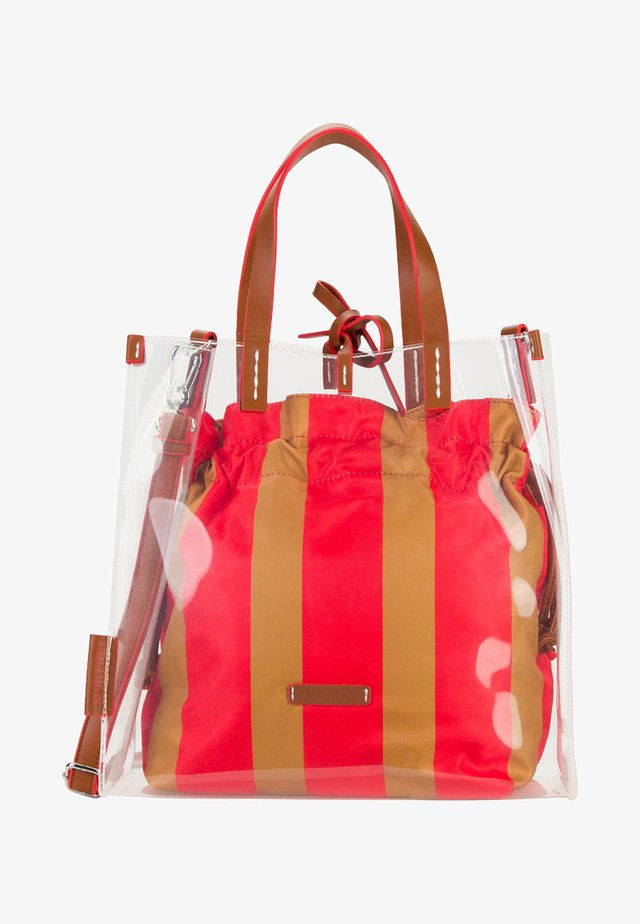 LABEL GRACY - Tote bag - red