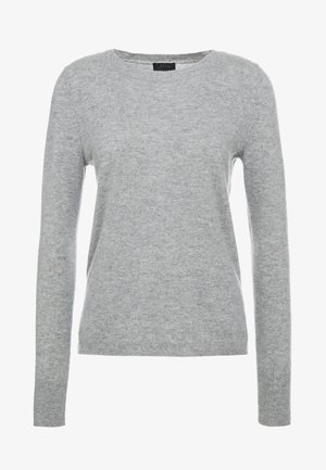 LAYLA CREW - Sweter - heather grey