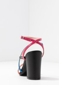 MSGM - DONNA WOMANS - High heeled sandals - multicolor/black - 5