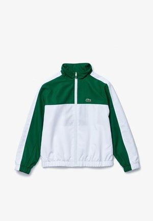 Veste mi-saison - vert / blanc