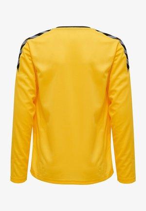 HMLAUTHENTIC - Funktionströja - sports yellow/black