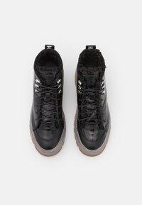 HUGO - JIN HIKING - Lace-up ankle boots - black - 4