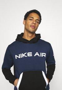 Nike Sportswear - AIR HOODIE - Luvtröja - midnight navy/black - 3