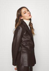 Lauren Ralph Lauren - BONARO - Blazer - chocolate - 5