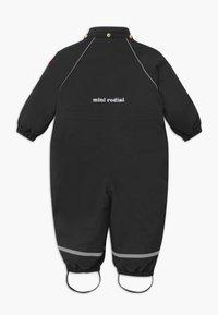 Mini Rodini - BABY ALASKA PANDA UNISEX - Snowsuit - black - 2