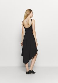 Bloch - ASYMMETRICAL HEM TANK DRESS - Jurken - black - 2