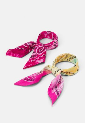 2 PACK BANDANA UNISEX - Accessori capelli - multi