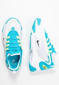 Nike Sportswear - ZOOM 2K - Zapatillas - blue fury/black/white/limelight - 3