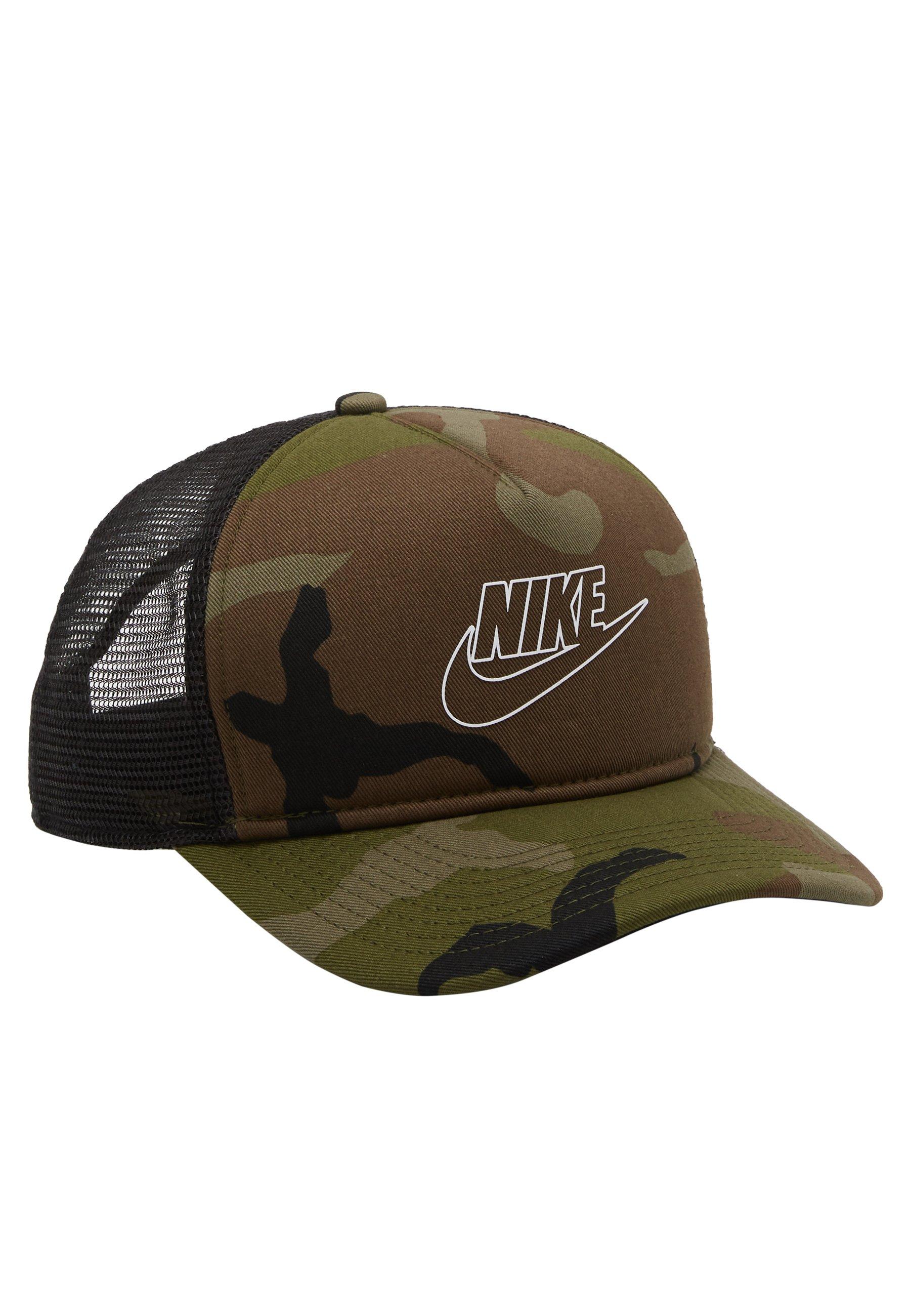 Nike Sportswear Camo Trucker - Cap Medium Olive/oliv
