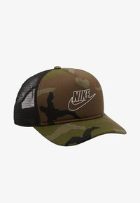 Nike Sportswear - CAMO TRUCKER - Kšiltovka - medium olive - 1