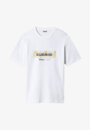 S-AIRBRUSH SS - T-shirt imprimé - bright white