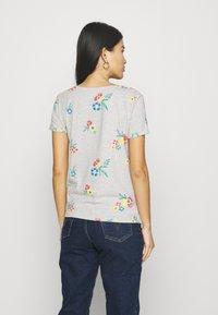Anna Field - T-shirts med print - mottled grey - 2