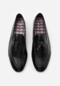 Walk London - TERRY TASSEL LOAFER - Mocassini eleganti - black - 3