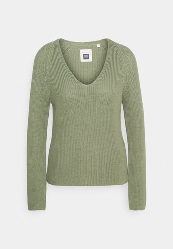 LONG SLEEVE - Pullover - dried sage