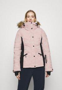 Superdry - SNOW LUXE PUFFER - Skijakke - pink - 0