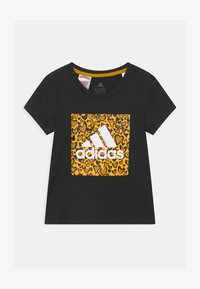 adidas Performance - UNISEX - Print T-shirt - black - 0