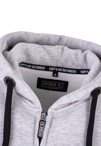 Spitzbub - VALENTIN - Zip-up sweatshirt - grau - 4