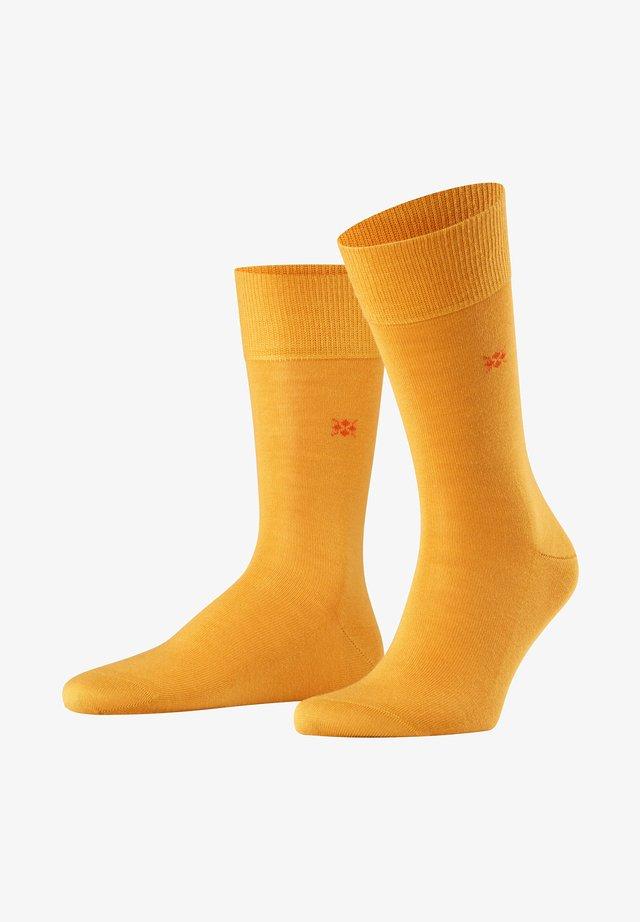 LEEDS - Socks - amber