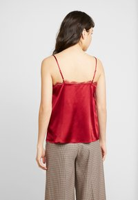 Mos Mosh - DITTE SINGLET - Toppe - red - 2