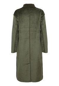 Denim Hunter - DHBELLE SHEARLING COAT - Płaszcz wełniany /Płaszcz klasyczny - forest night - 11