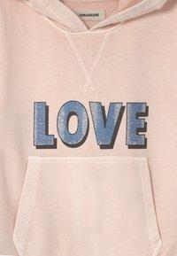 Zadig & Voltaire - HOODED - Sweatshirt - washed pink - 2