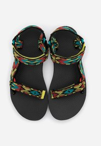 Teva - ORIGINAL UNIVERSAL WOMENS - Outdoorsandalen - yellow/red/green - 3