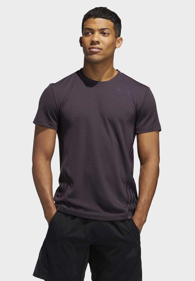 T-shirt con stampa - purple