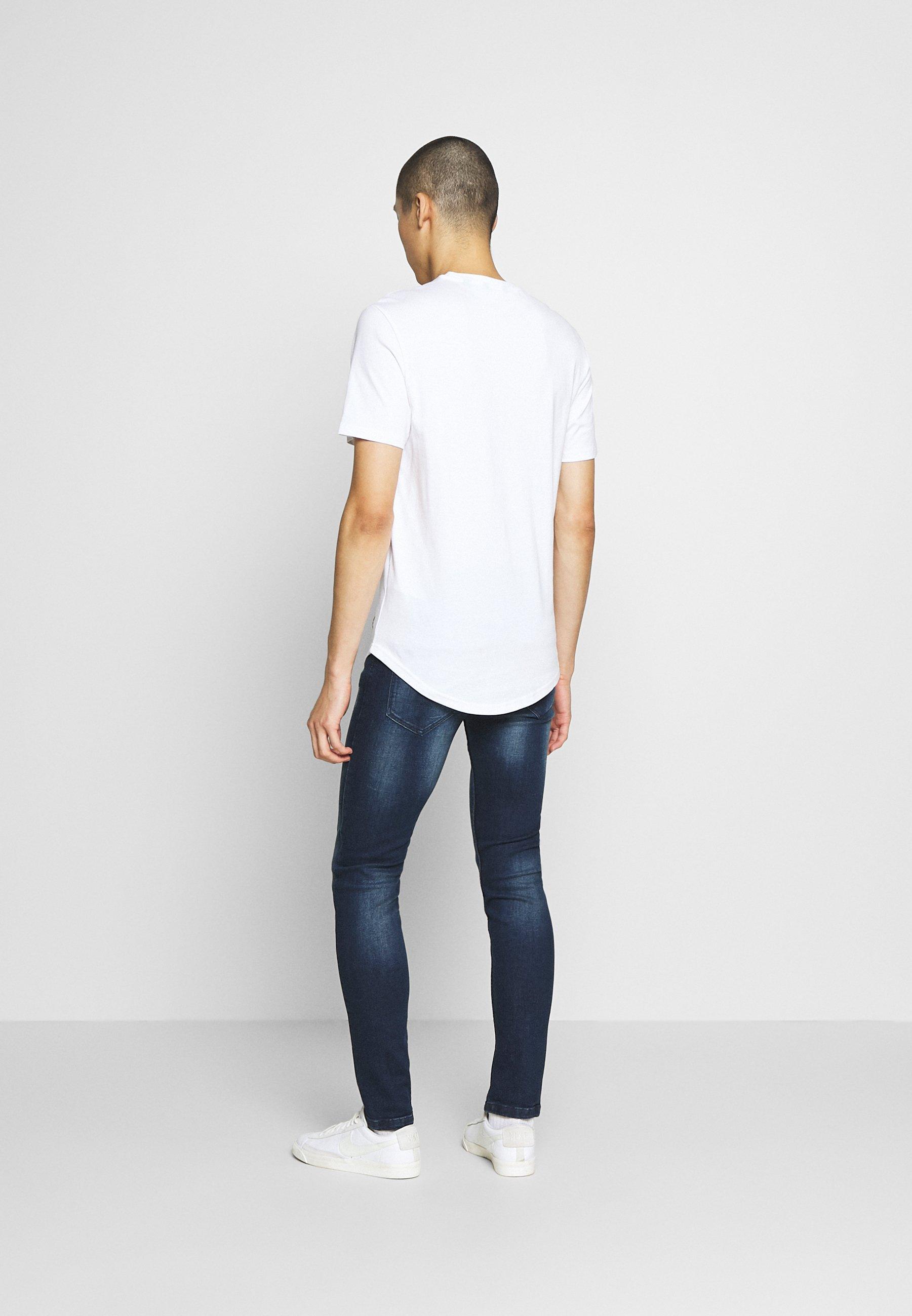 Redefined Rebel Stockholm - Jeans Slim Fit Shore Blue/blå Denim