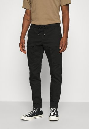 RRFRED PANTS - Cargo trousers - black
