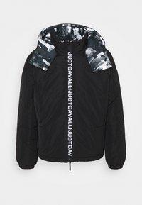 Just Cavalli - SPORTS JACKET - Winter jacket - black - 7