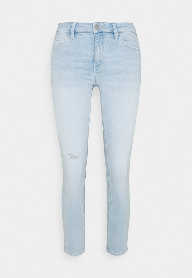 Jeansy Skinny Fit - blue bleached