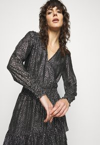 MICHAEL Michael Kors - SPACED GALAXY  - Cocktail dress / Party dress - black / silver - 3