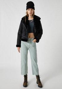 PULL&BEAR - Light jacket - black - 1