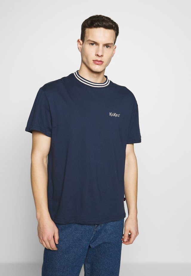 TEE - Basic T-shirt - navy