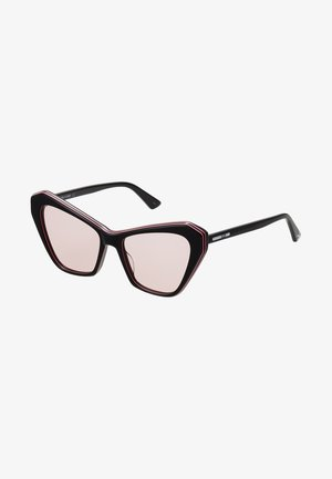 Sunglasses - black/pink