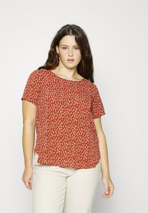 CARLUXCILLE - Blouse - roatsed russet