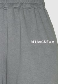 Missguided Tall - BASIC JOGGER 2 PACK - Tracksuit bottoms - dark grey/rose - 4