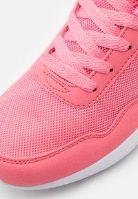 Kappa - FOLLOW - Sports shoes - flamingo/white - 5