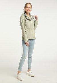 Schmuddelwedda - Soft shell jacket - pastelloliv - 1