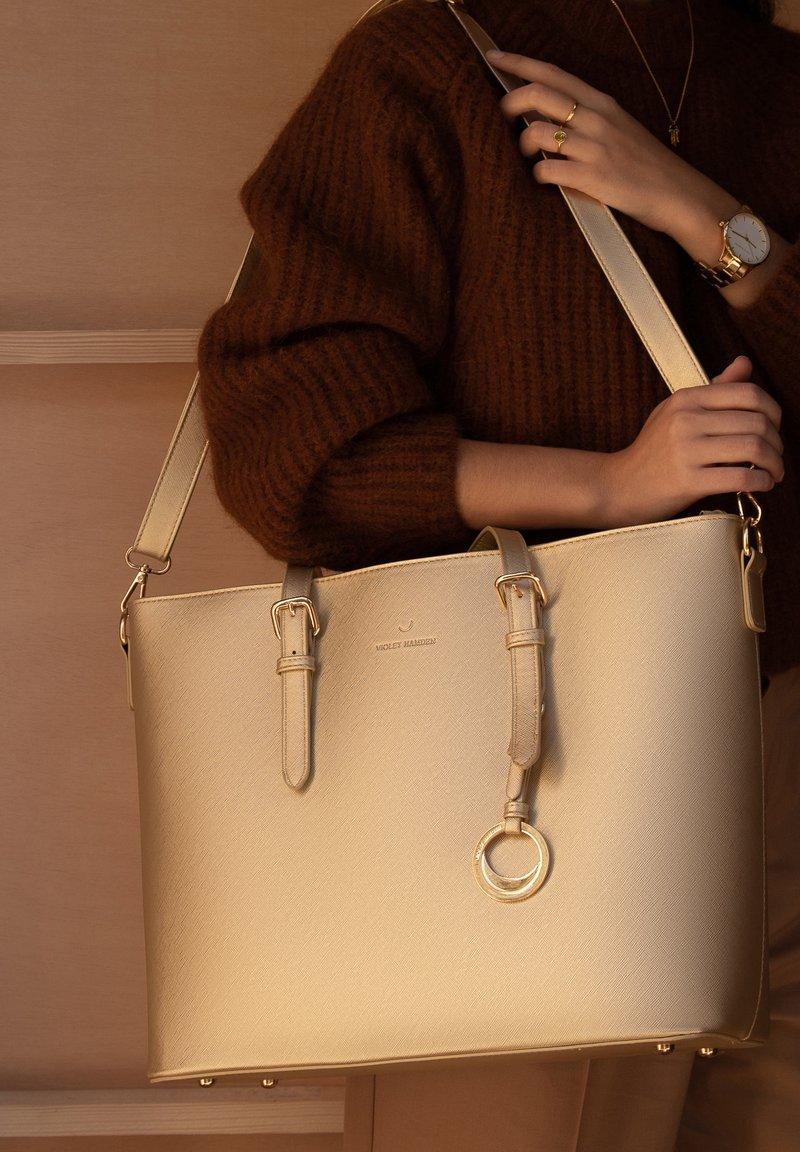 Violet Hamden - Handbag - gold