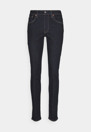SKINNY TAPER - Skinny džíny - dark-blue-denim