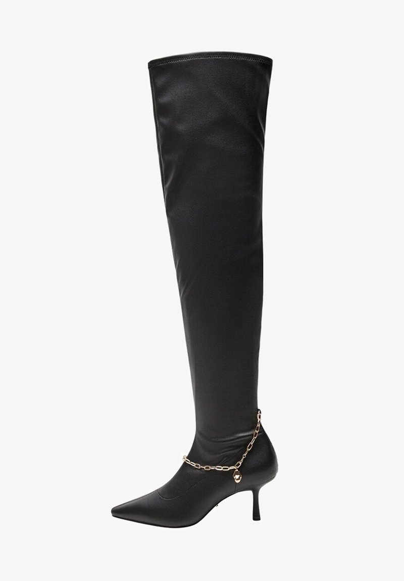 Violeta by Mango - PULSE-I - Over-the-knee boots - schwarz