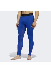 adidas Performance - ALPHASKIN 2.0 SPORT LONG TIGHTS - Leggings - blue - 0