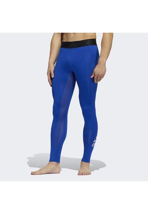 ALPHASKIN 2.0 SPORT LONG TIGHTS - Tights - blue