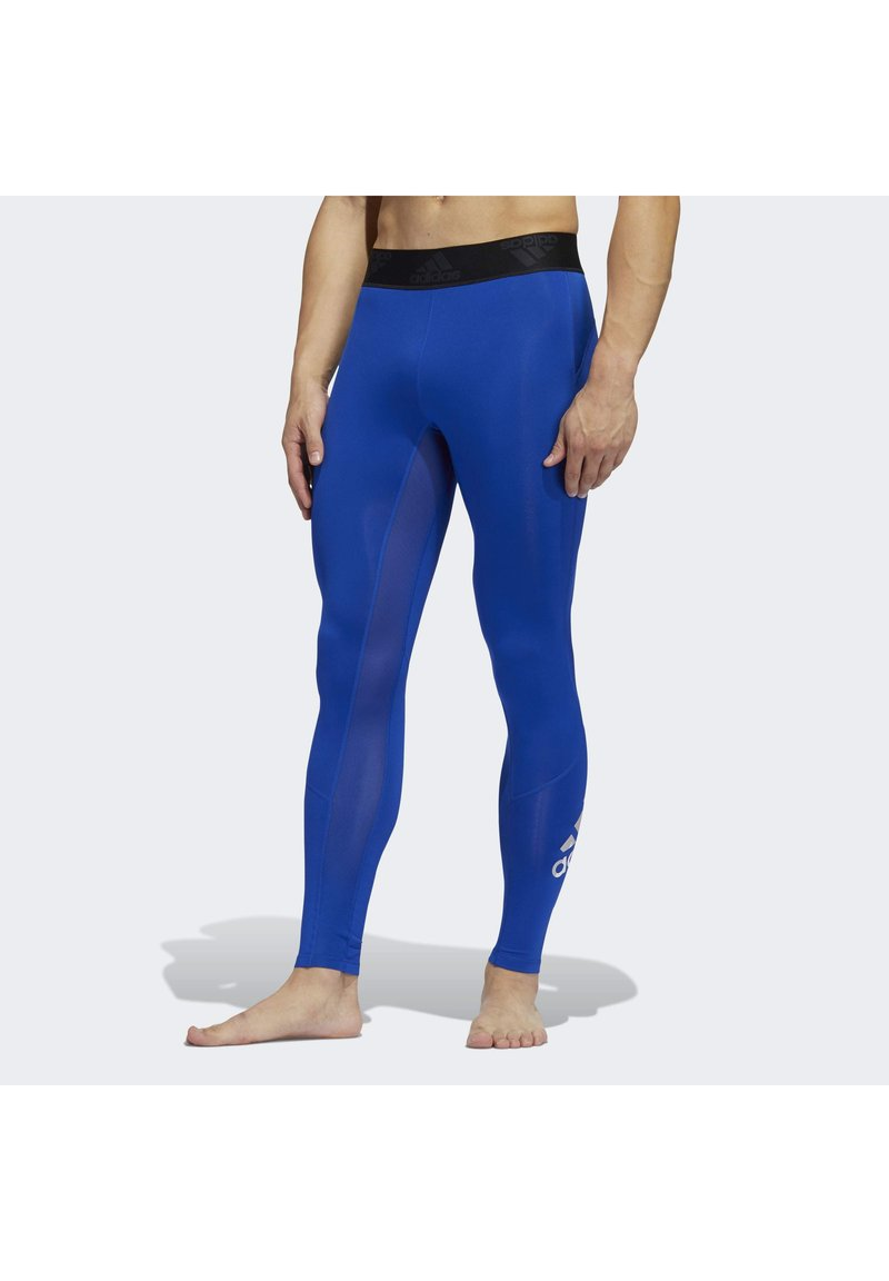 adidas Performance - ALPHASKIN 2.0 SPORT LONG TIGHTS - Leggings - blue