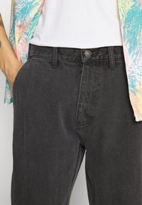 Obey Clothing - HARD WORK CARPENTER - Straight leg -farkut - dusty black - 5