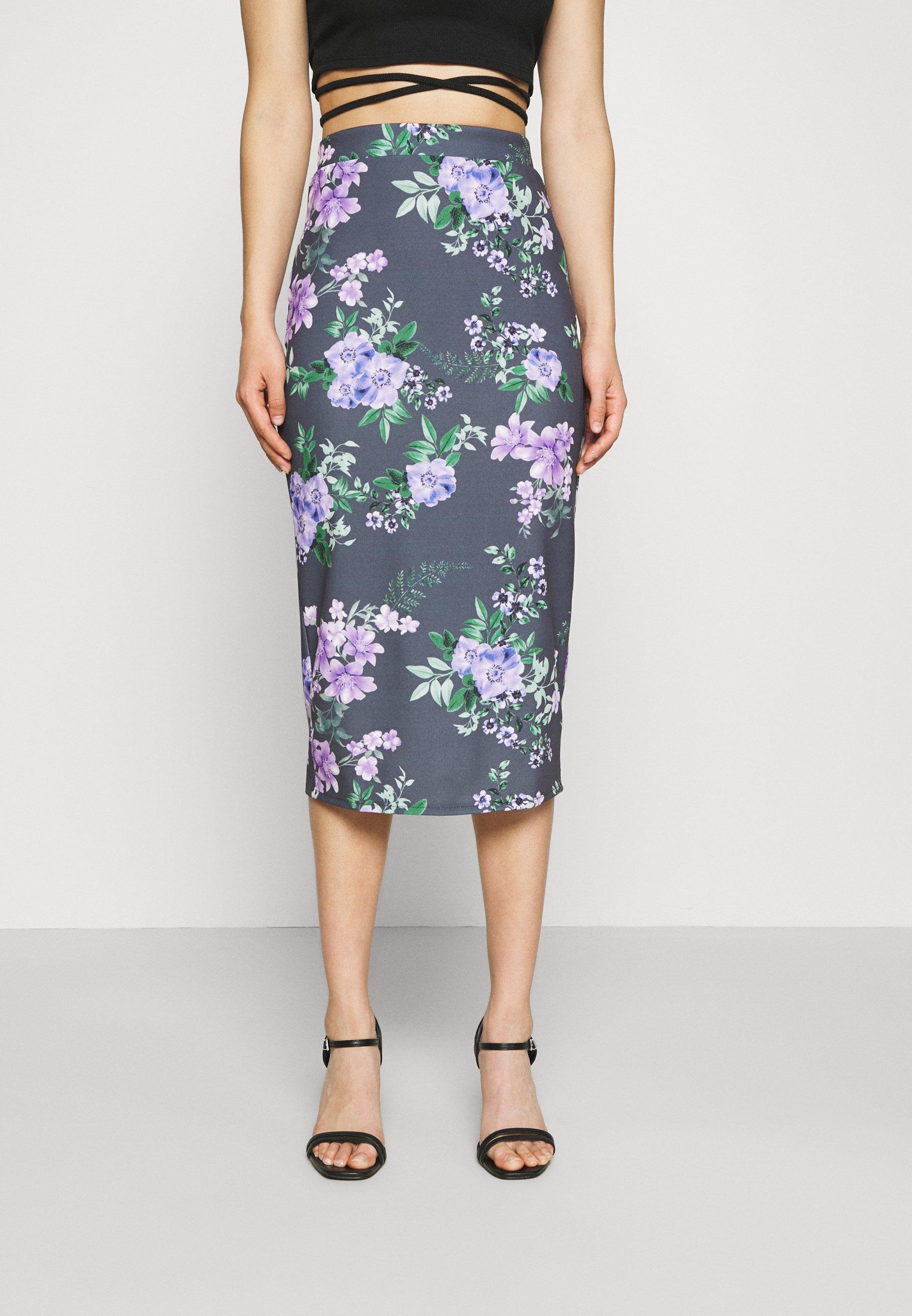 Women LANCE FLORAL MIDI SKIRT - Pencil skirt