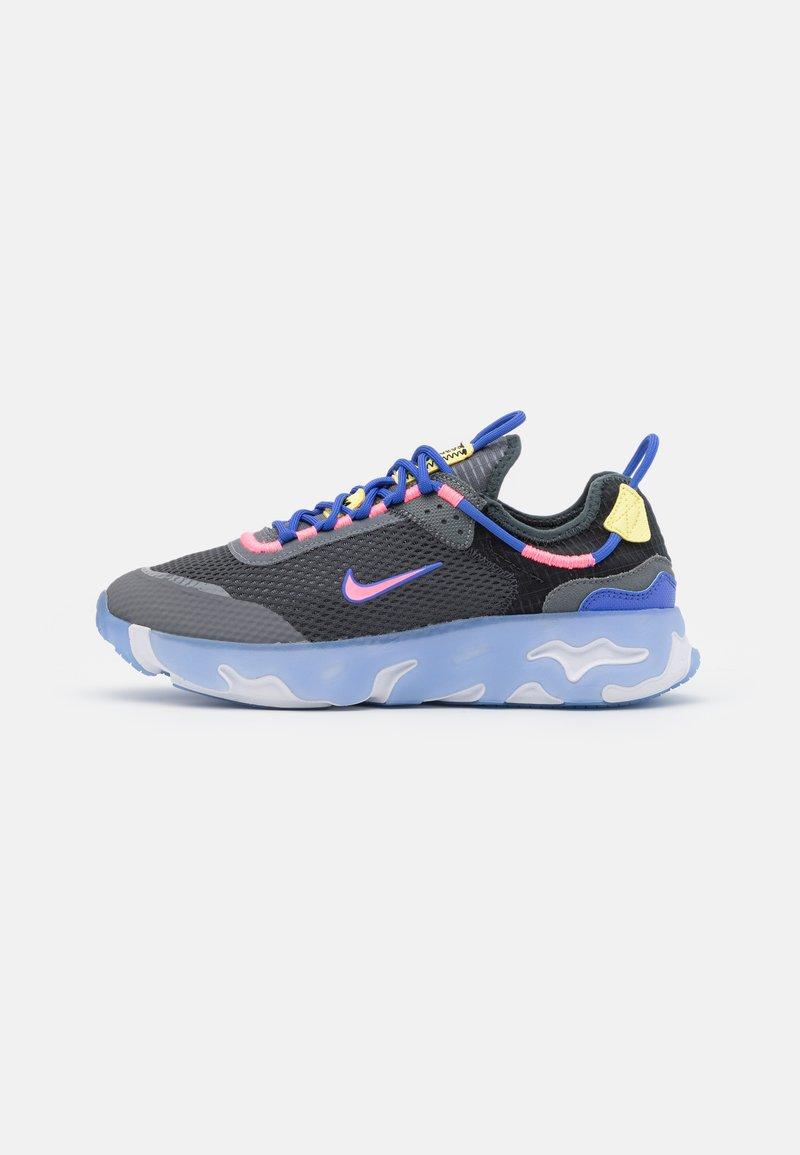 Nike Sportswear - REACT LIVE UNISEX - Matalavartiset tennarit - dark smoke grey/sunset pulse/smoke grey/sapphire