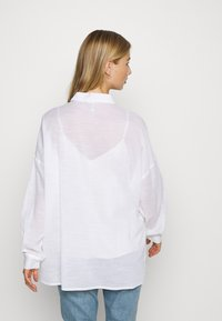 Nly by Nelly - SUMMER - Button-down blouse - white - 2