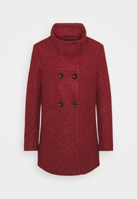 ONLY - SOPHIA - Classic coat - fired brick/melange - 5